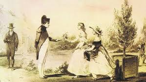 Napoleon in exile on St Helena - Napoleon meets Betsy and Anne Balcombe at The Briars