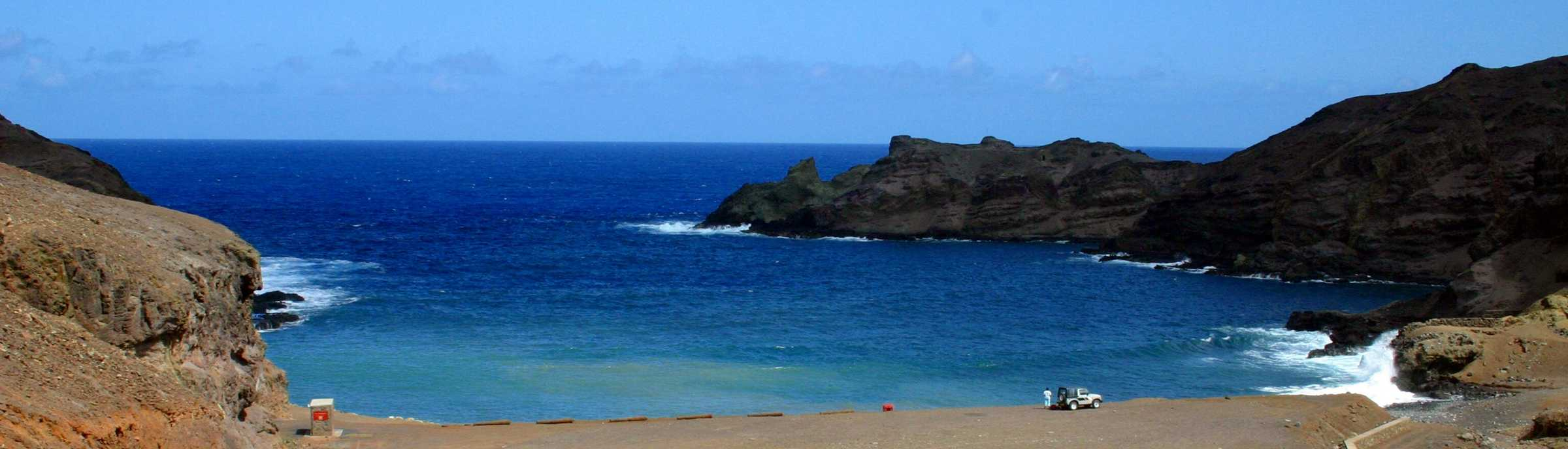 St Helena Sandy Bay Beach